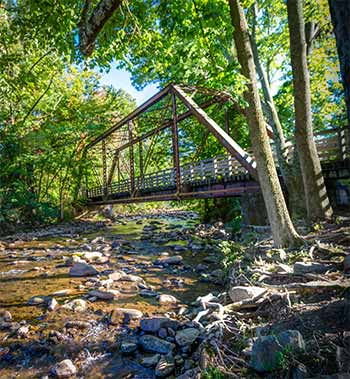 Creeper Trail trestle