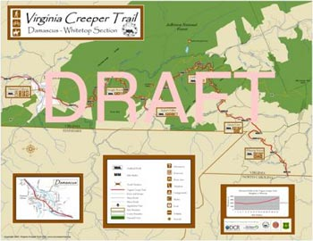 Creeper Trail map sample